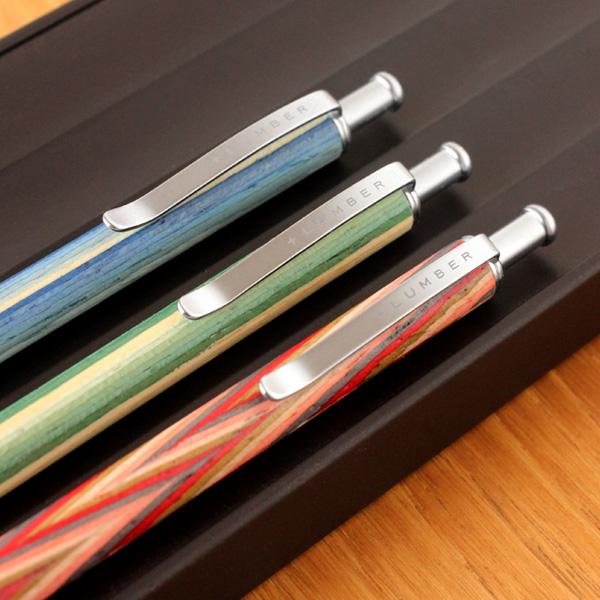 カラフルな木製携帯ボールペン「MINI BALLPOINT PEN」
