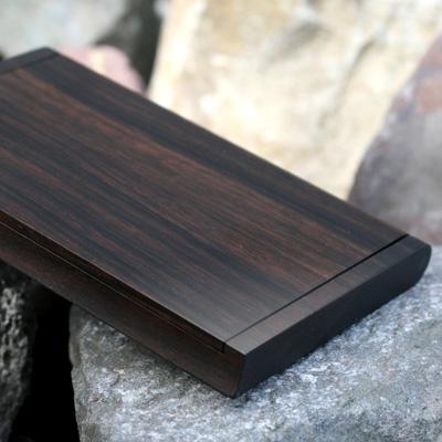 木製(黒檀)名刺ケース「Hacoa CardCase」