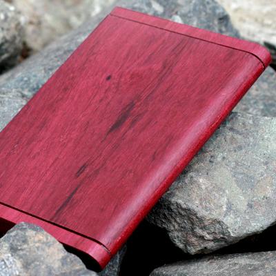 木製(パープルハート)名刺ケース「Hacoa CardCase」