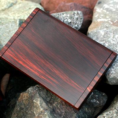 木製(ローズウッド)名刺ケース「Hacoa CardCase」