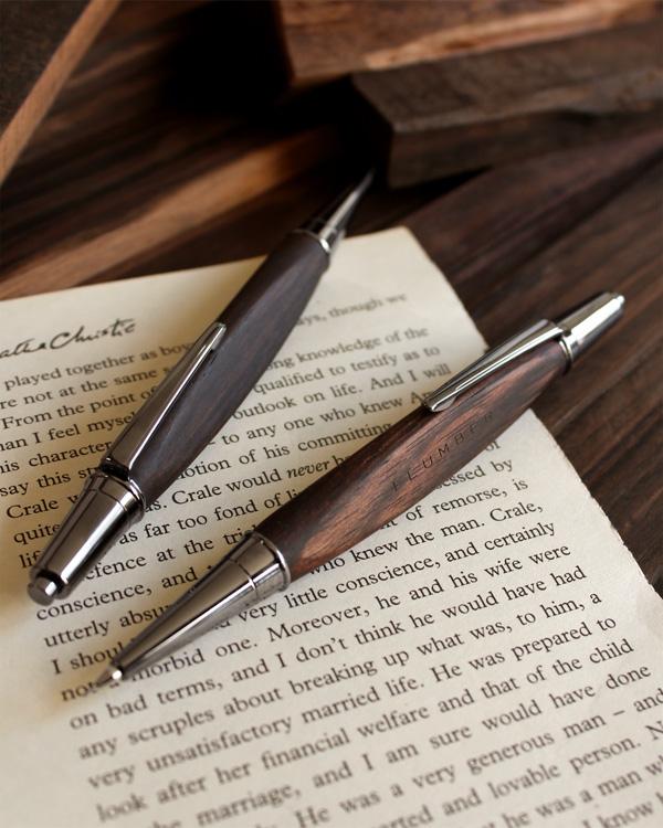 高級木材(黒檀)の芯ホルダー(鉛筆)「LEAD PENCIL 2mm」