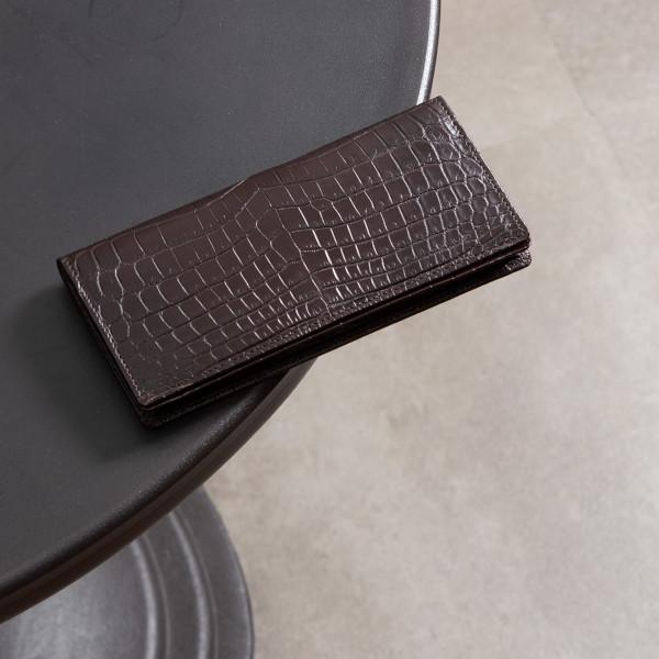 ナイルクロコダイル長財布「LS8118」