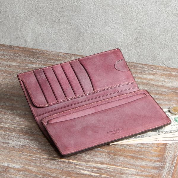 フラップ(デザイン)長財布